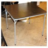 "33"" Wide Folding Card Table"