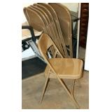 7 Nice Condition Folding Chairs