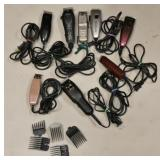 8 Different Barber Shavers Clippers Cutters Lot A