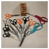 Lot of Barbers Stylist Scissors Shears Thinners