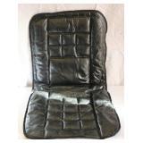 Leather Lumbar Cushion Padded
