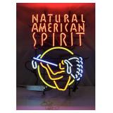 Natural American Spirit Neon Sign Works Great