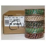 Case of 74 Spools Christmas Cord New