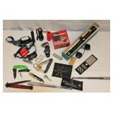 Box Lot Martial Arts Knives Scope Lighters