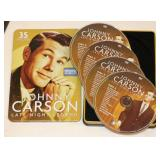35 Episodes of Johnny Carson on 4 DVDs