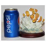 Clownfish Figurine on Stand