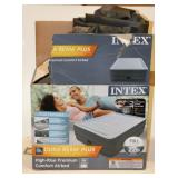 Intex Full Sized Inflateable Bed w Pump Newish