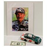 Picture of Dale Earnhart & Diecast #88 of Jrs