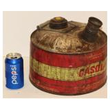 Very Old Metal Gas Can