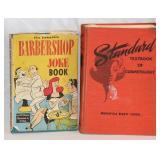 Vintage Barber Books 69 Clairol 52 joke 72 Text