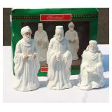 1994 White Porcelain 3 Wise Men in Box