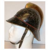 Vintage Swiss Metal Fireman Helmet
