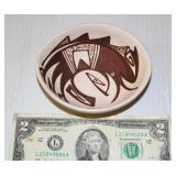 Signed Hopi Native American Hand Made Bowl