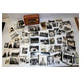Original WWII Photos - Mainly Military At Ease