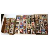 Sports Cards Baseball & Football in 3 Boxes
