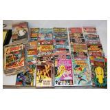 126 Comic Books - Star Trek, WW, Marvel ++