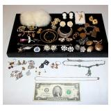 Vintage Jewelry - .925, Charms, Earrings, Brooches