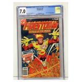 Firestorm #1 DC Comic CGC Graded 7.0