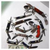 Lot of Scouting Knives - Boy, Cub, Camp