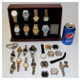 Faux Rolex Watch Collection in Carrier