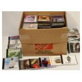 Large Box of CD Music - R&R, Jazz, Country +++