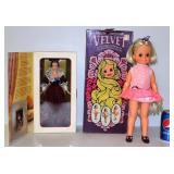 Dolls - Hair Growing Velvet & Barbie Sentimental