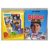 1988 & 89 Donruss Baseball Card Boxes Complete