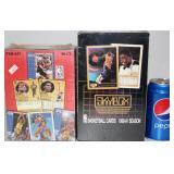 1991 Fleer & 1990-91 Skybox Sealed Basketball Card