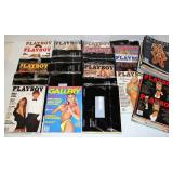 1990-93 Playboy Magazines - Includes Trump Cover