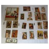 Antique Advertising Postcards & Calendar