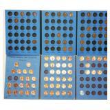 US Lincoln Head Penny Book 1 & 2 w Pennies - B