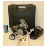 Porter-Cable 866 Cordless Drill w Flashlight 12V