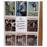 8 Michael Jordan Baseball Cards