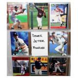 8 Different Derek Jeter Rookie Baseball Cards