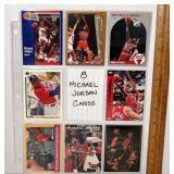 8 Michael Jordan Cards - Basketball & Baseball