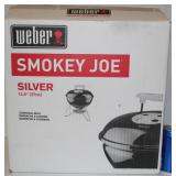 "NIB Weber Smoky Joe 14.5"" BBQ Grill"