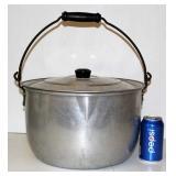 Wear-Even 17 Qts Aluminum Pot w Lid #3267