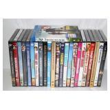 23 Sealed DVD Movies & 1 Blu-Ray Movie Sealed