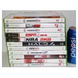10 X-Box 360 Games - Mainly Sports