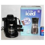 Mr Coffee Espress & Ice Coffee Makers Hardly Used