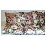 6 New Decor Indoor/Outdoor Pillows 2 Designs