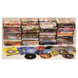 80 Movie DVDs in Boxes & 15 Without