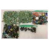 5 Bags of Assorted Marbles