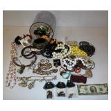 Costume Jewelry in Container Almost 4#