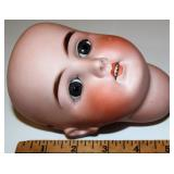 Beautiful Antique German Doll Head Bisque B4