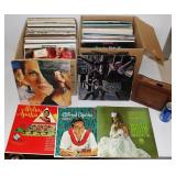 2 Boxes of LP Records & 45s Lot