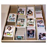 1981-82 Football Cards in Large Box