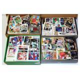 4 Shoe Boxes of Baseball Cards