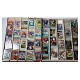Football Cards Assorted in 2 Large Boxes