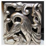 Vintage Coro Sterling Silver Bird Brooch